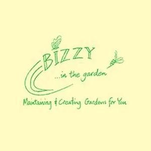 Bizzy in the Garden
