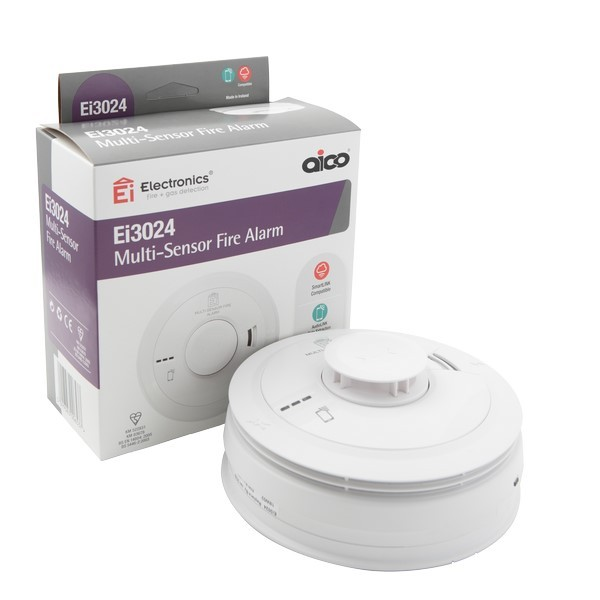 Multi Sensor Fire Alarm Ei3024