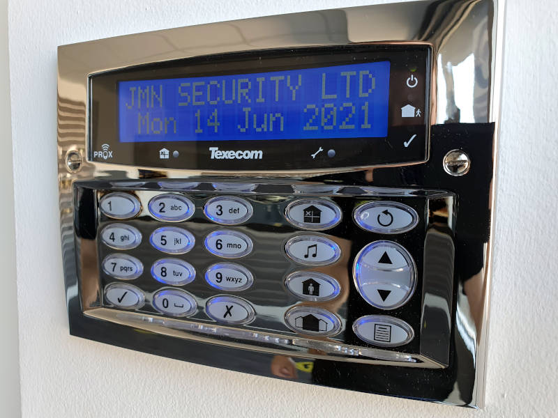 Wired Security Alarms
